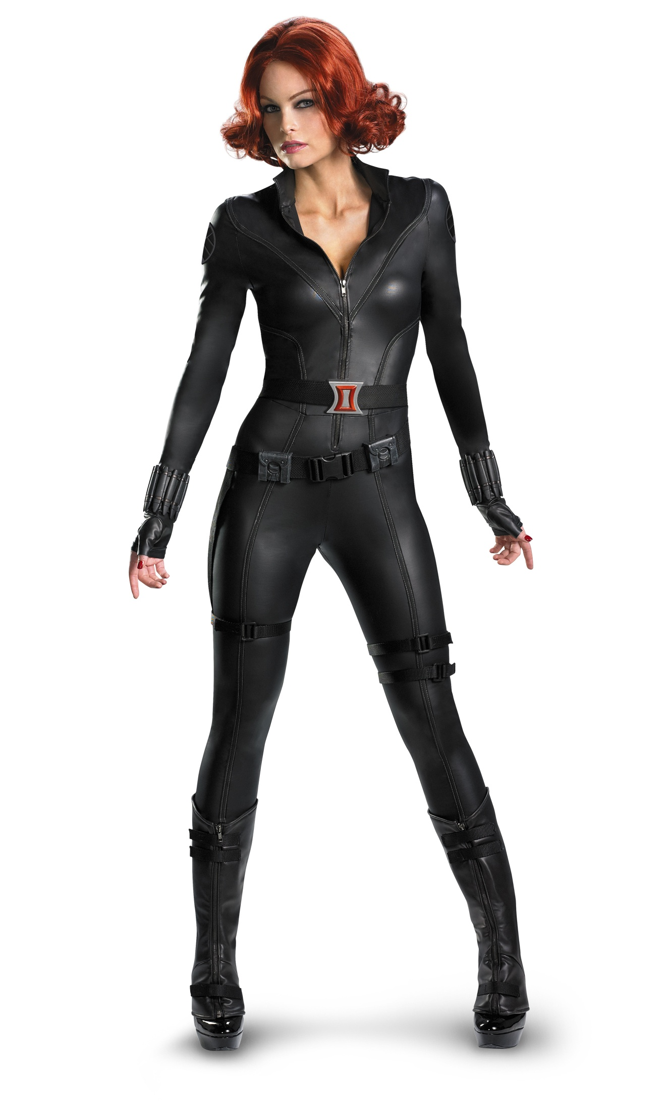 avengers black widow elite adult costume women. Black Bedroom Furniture Sets. Home Design Ideas