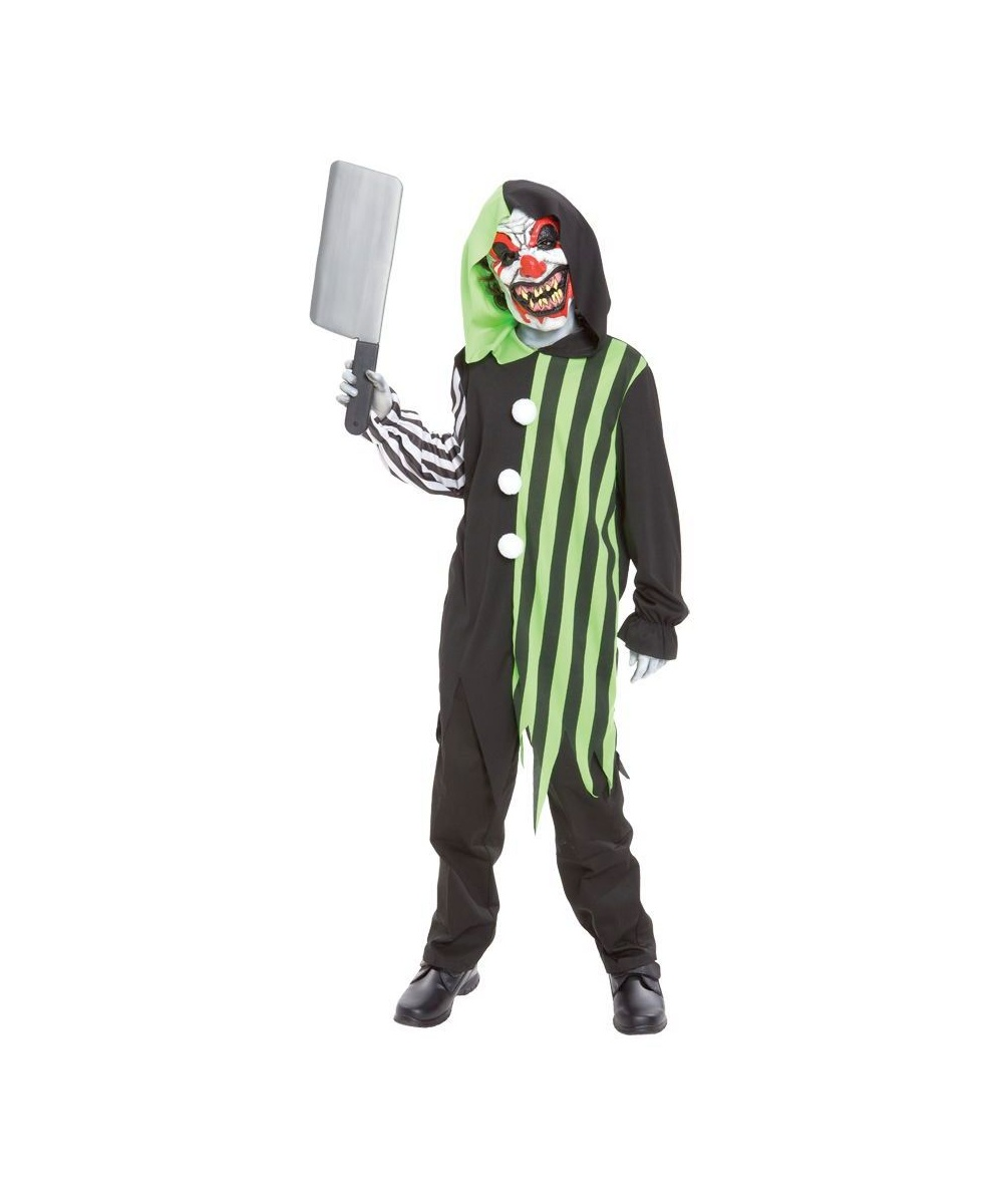 Cleaver The Clown Kids Costume