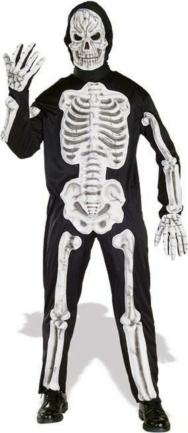Adult 3d Skeleton Costume