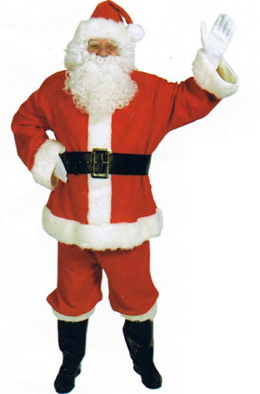 adult complete duvetyne santa suit costume Massive Tits Sex