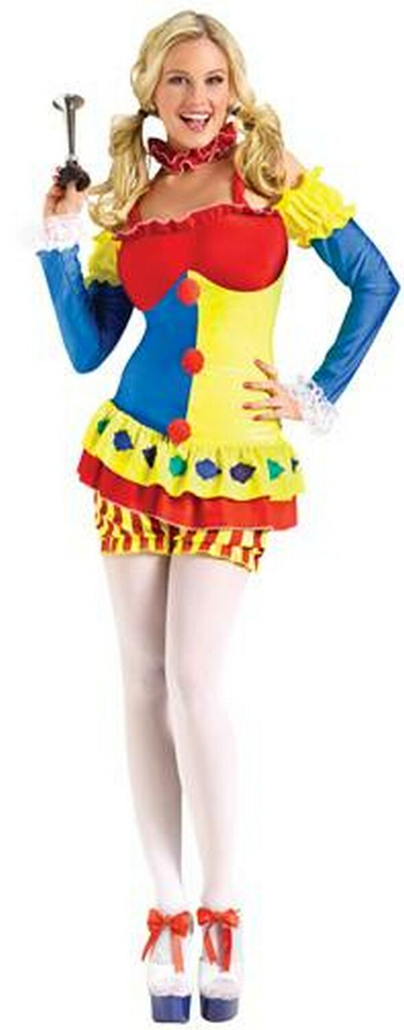 Adult Coy Clown Costume