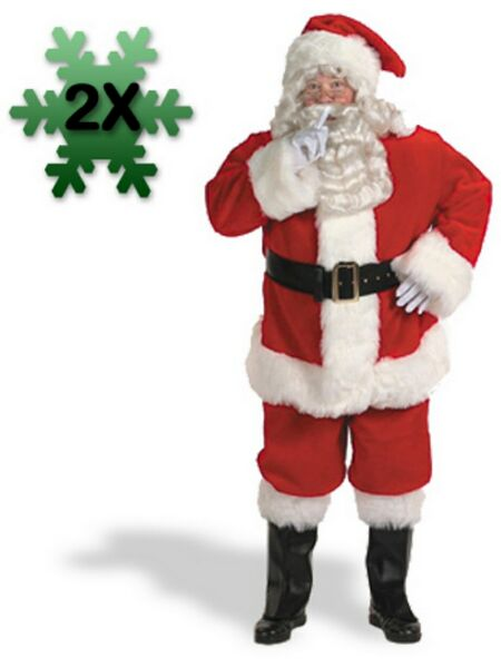 Adult Professional Santa Suit Costume
