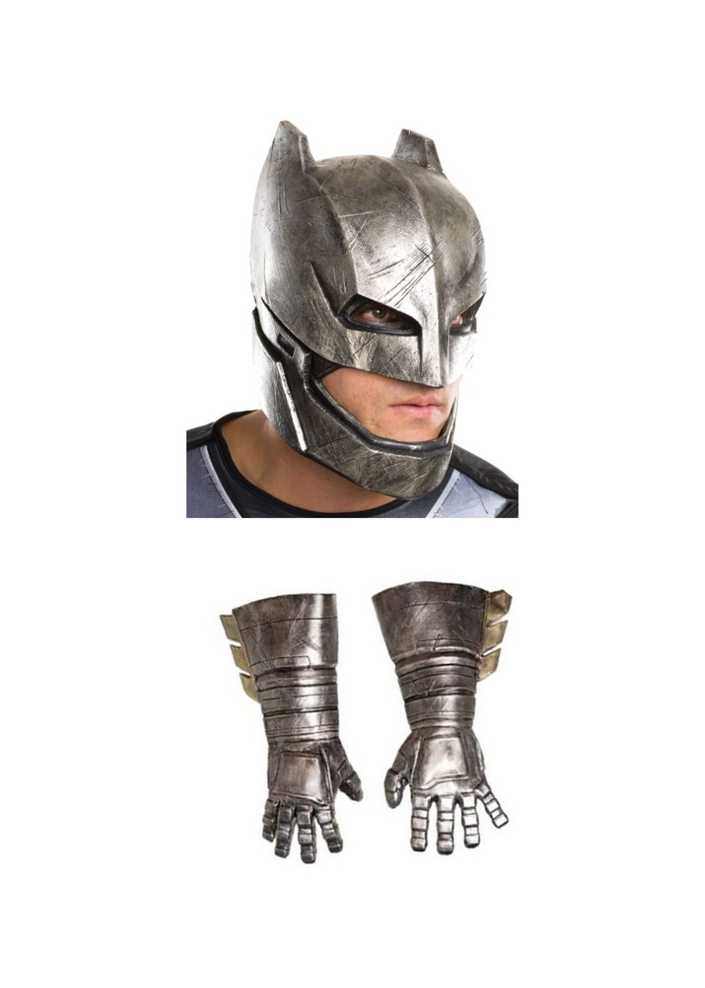 Batman V Superman Armored Batman Men Costume Kit