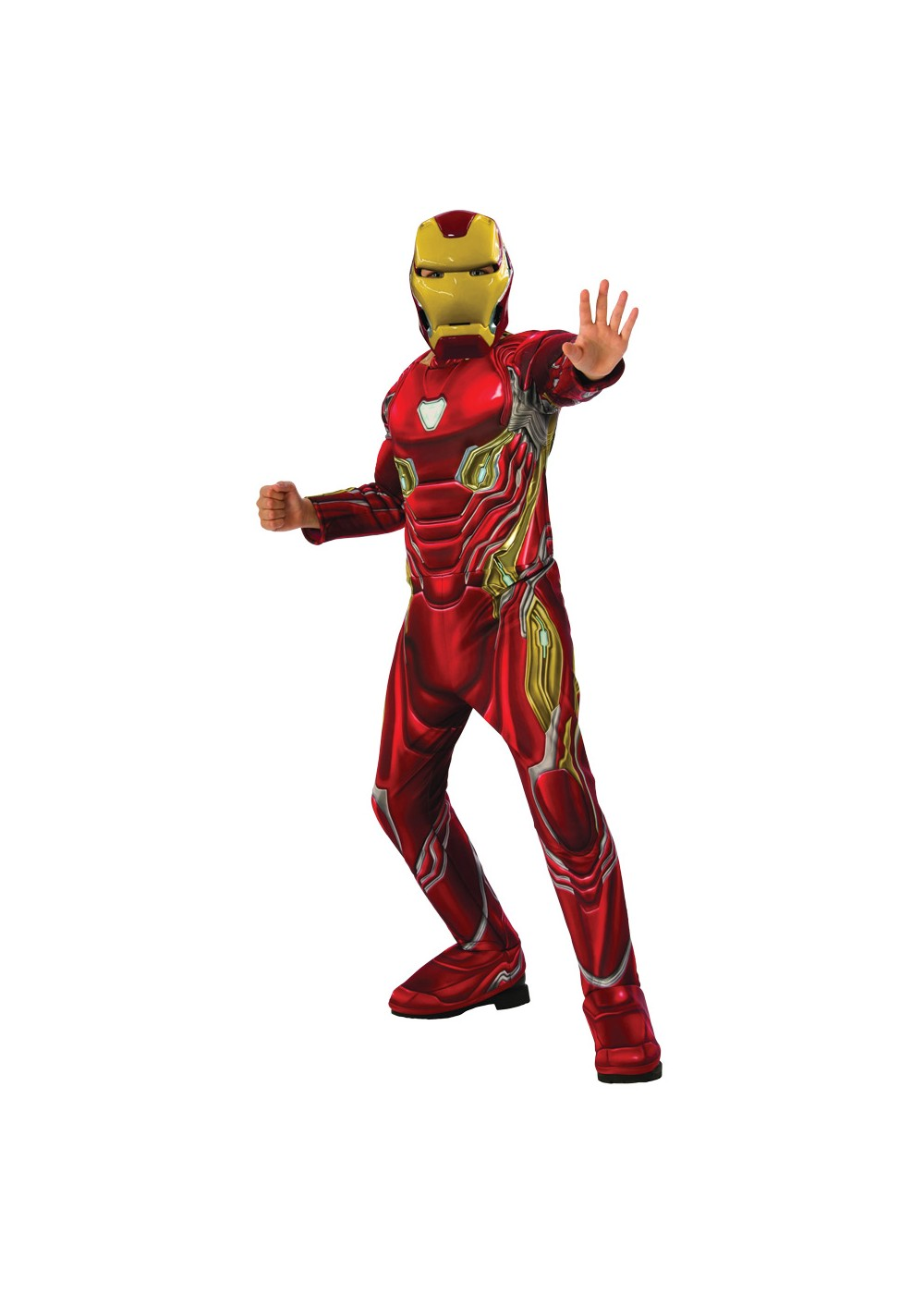 Boys Endgame Iron Man Mark 50 Suit Costume