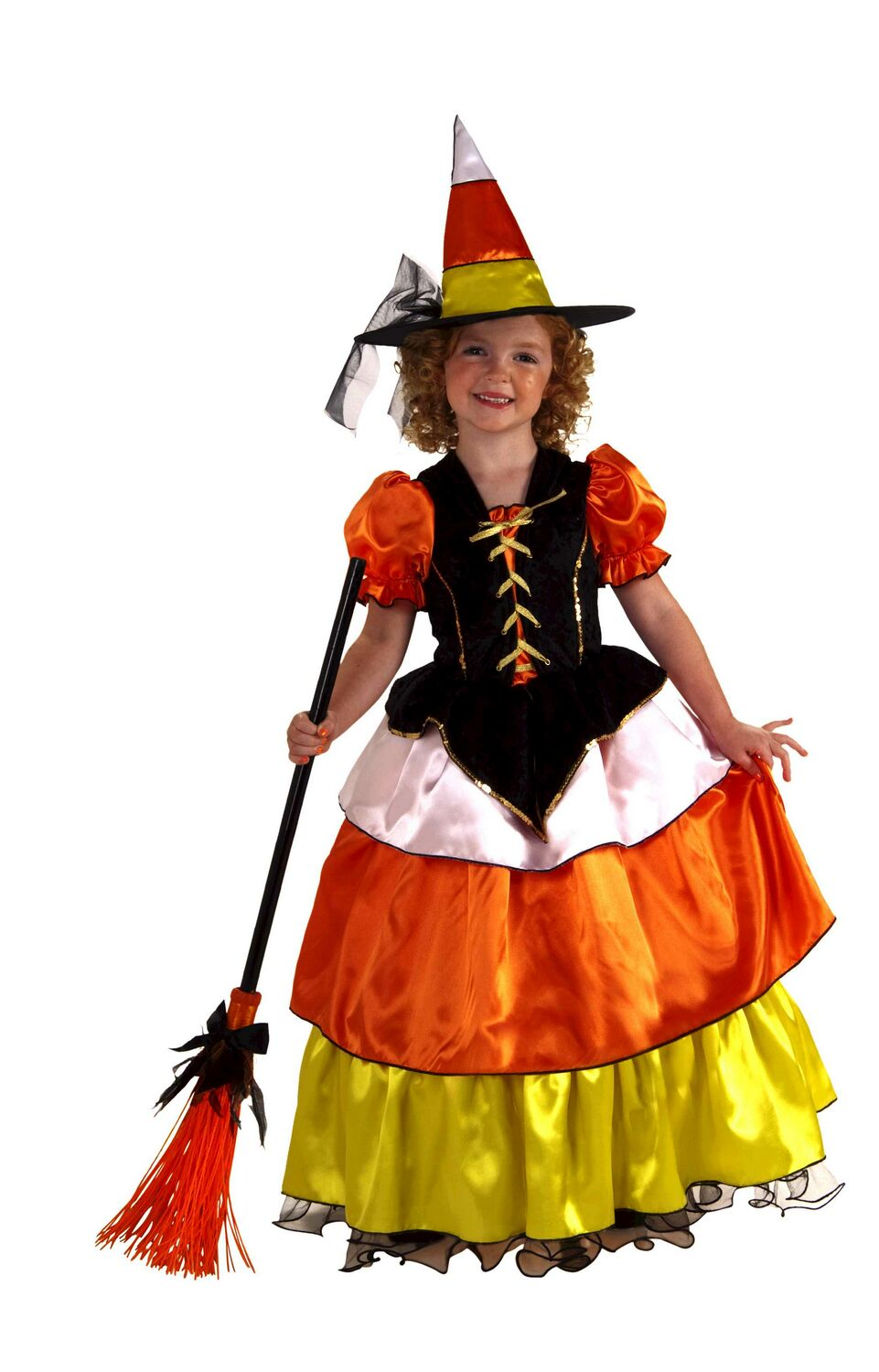 Candy Corn Costume http://www.buypartycostumes.com/candy-corn-witch-costume.html