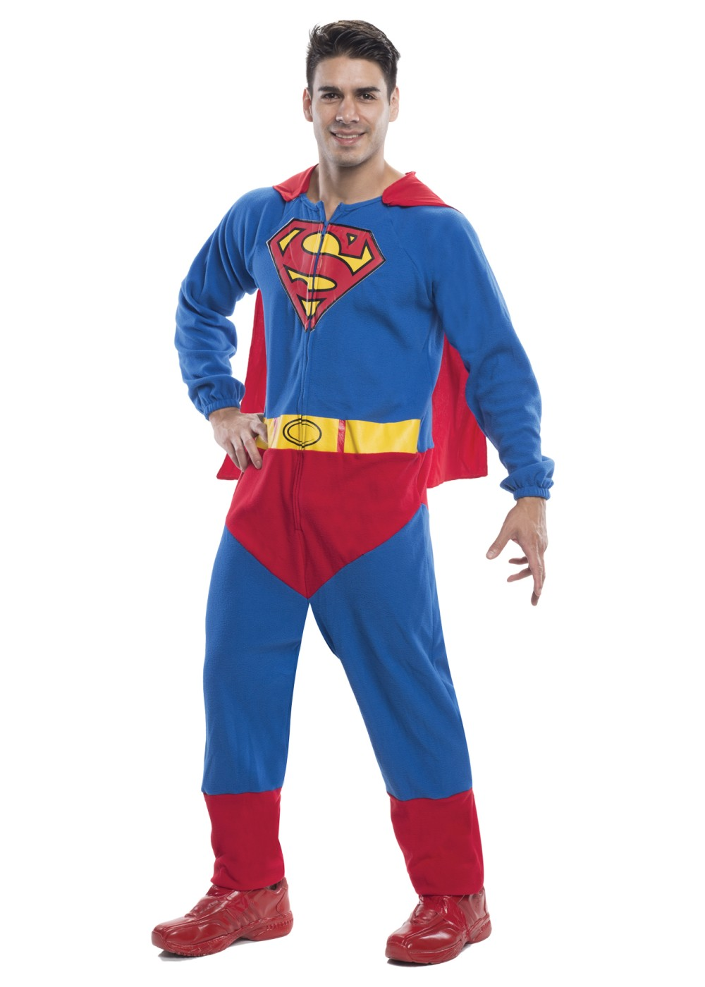 Superman Men Costume Jumpsuit
