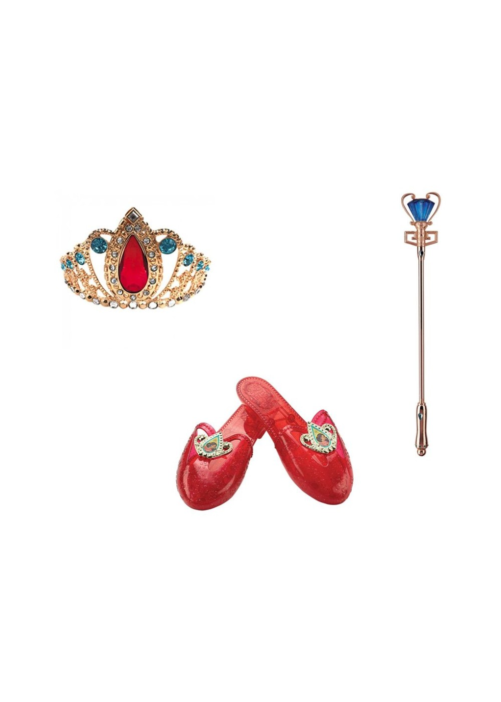 Girls Disney Princess Elena Costume Accessory Kit