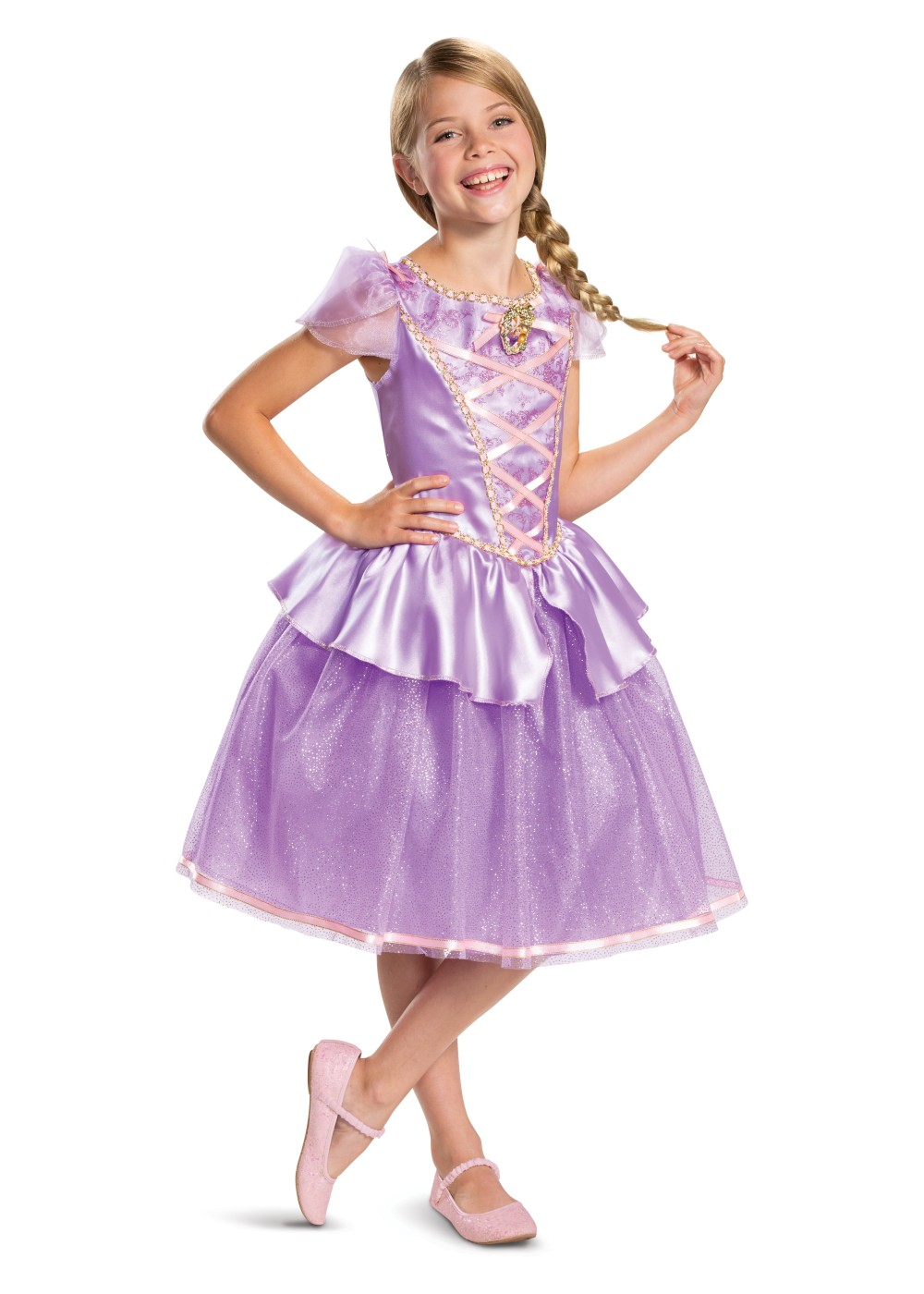 Disneys Rapunzel Girl Costume
