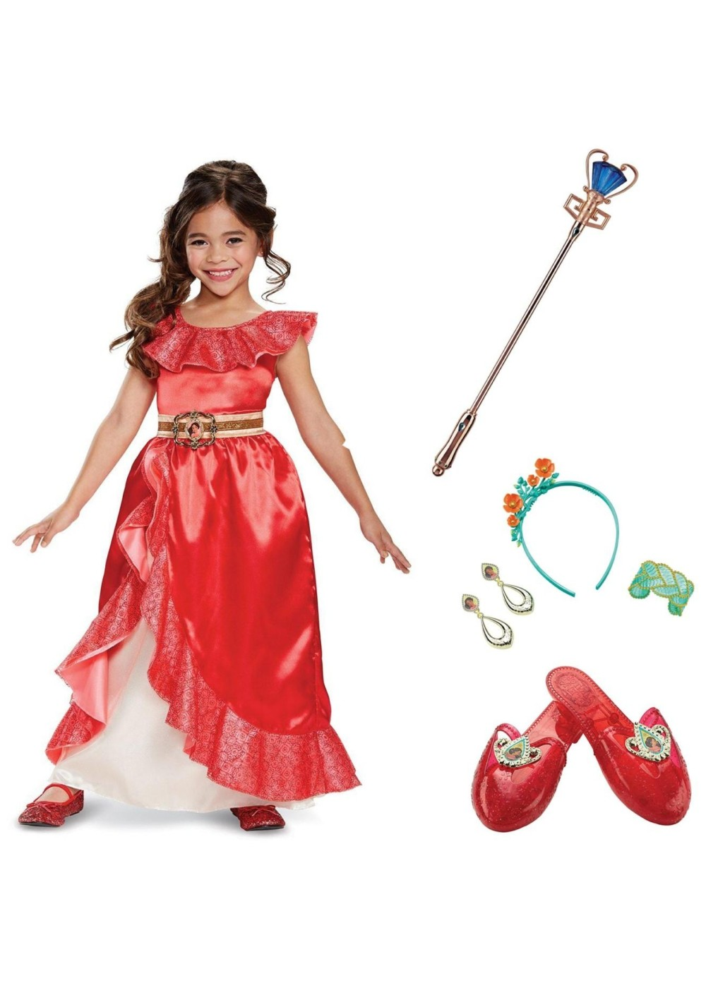 Elena Of Avalor Toddler Costume Kit