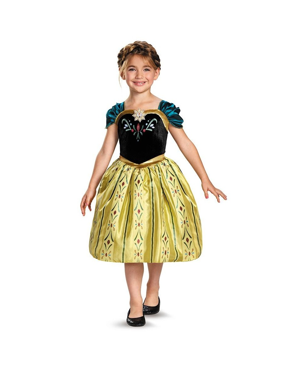 Coronation Gown Girls Classic Disney's Frozen Costume
