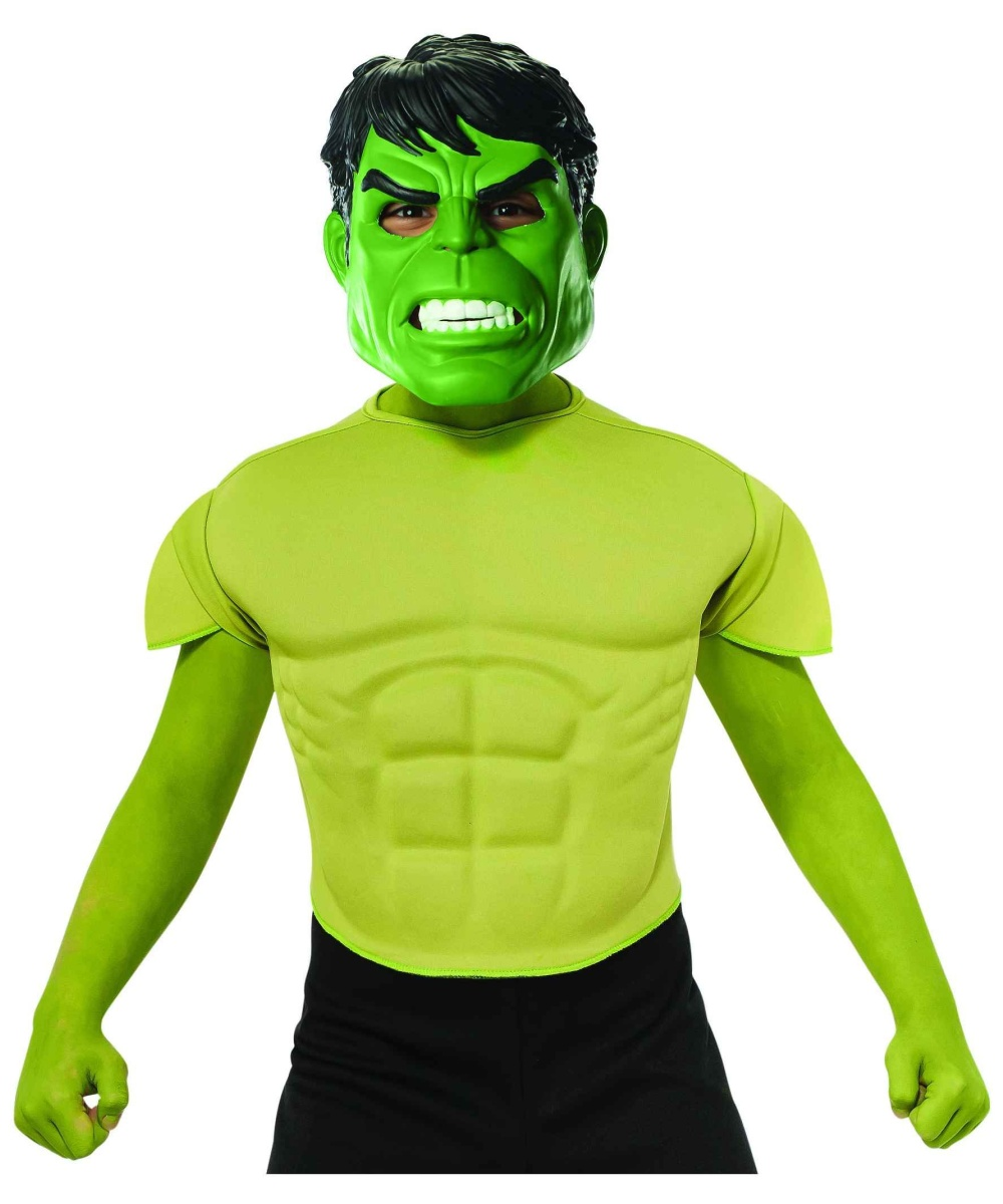 Hulk Boys Top Costume Marvel Superhero Comics Movie  Child