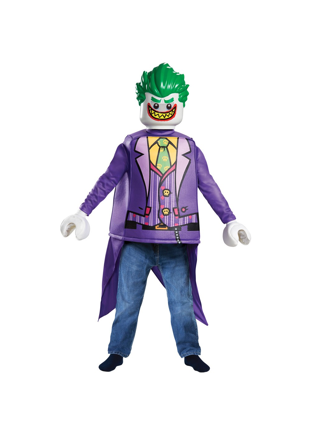 Lego Batman Boys Joker Costume