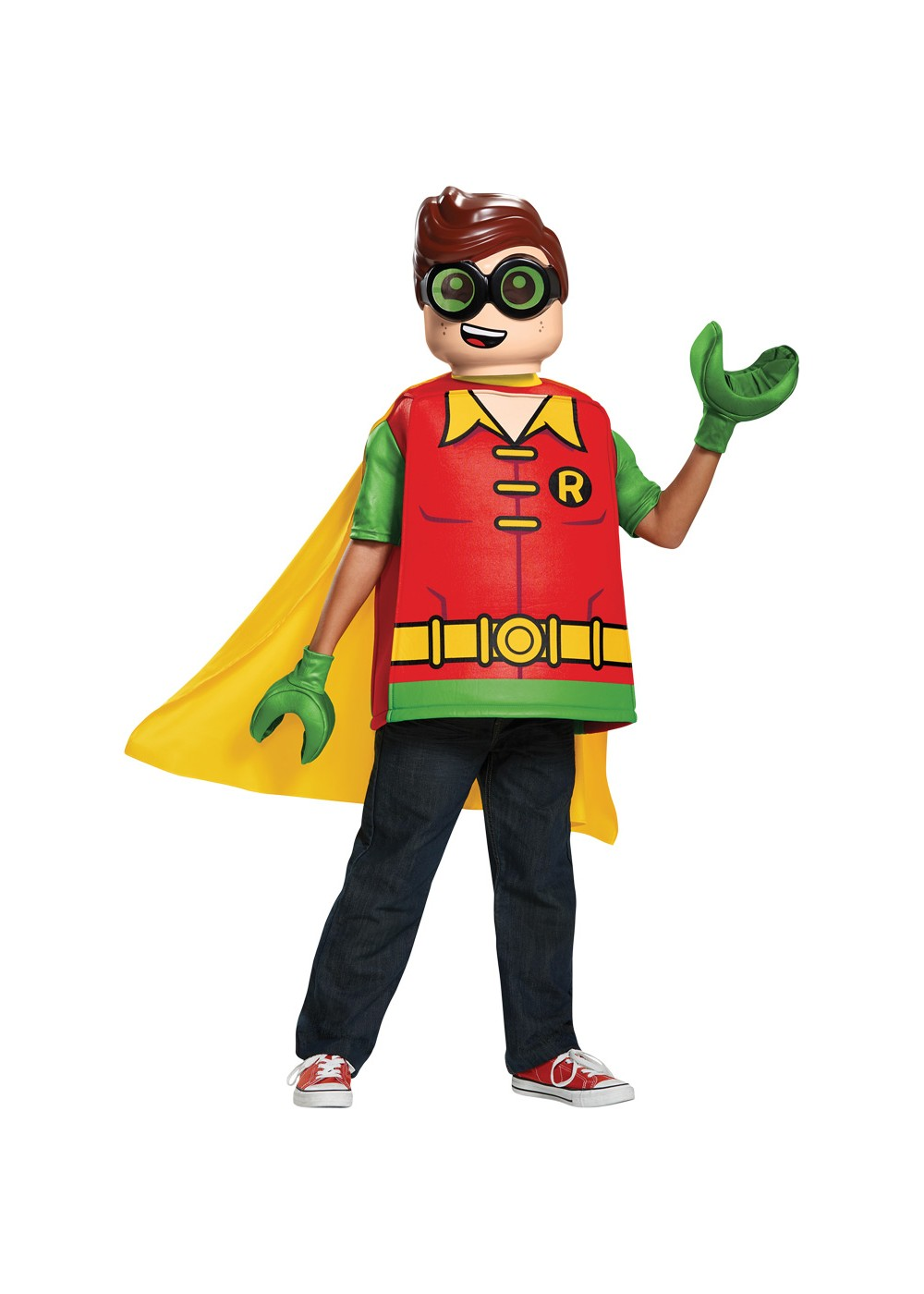Lego Batman Boys Robin Costume
