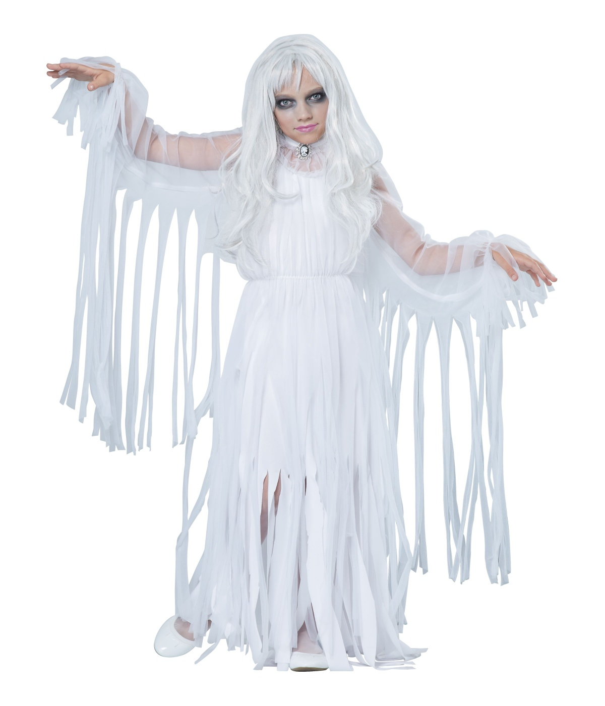 Spooky Ghostly Spirit Girl Costume