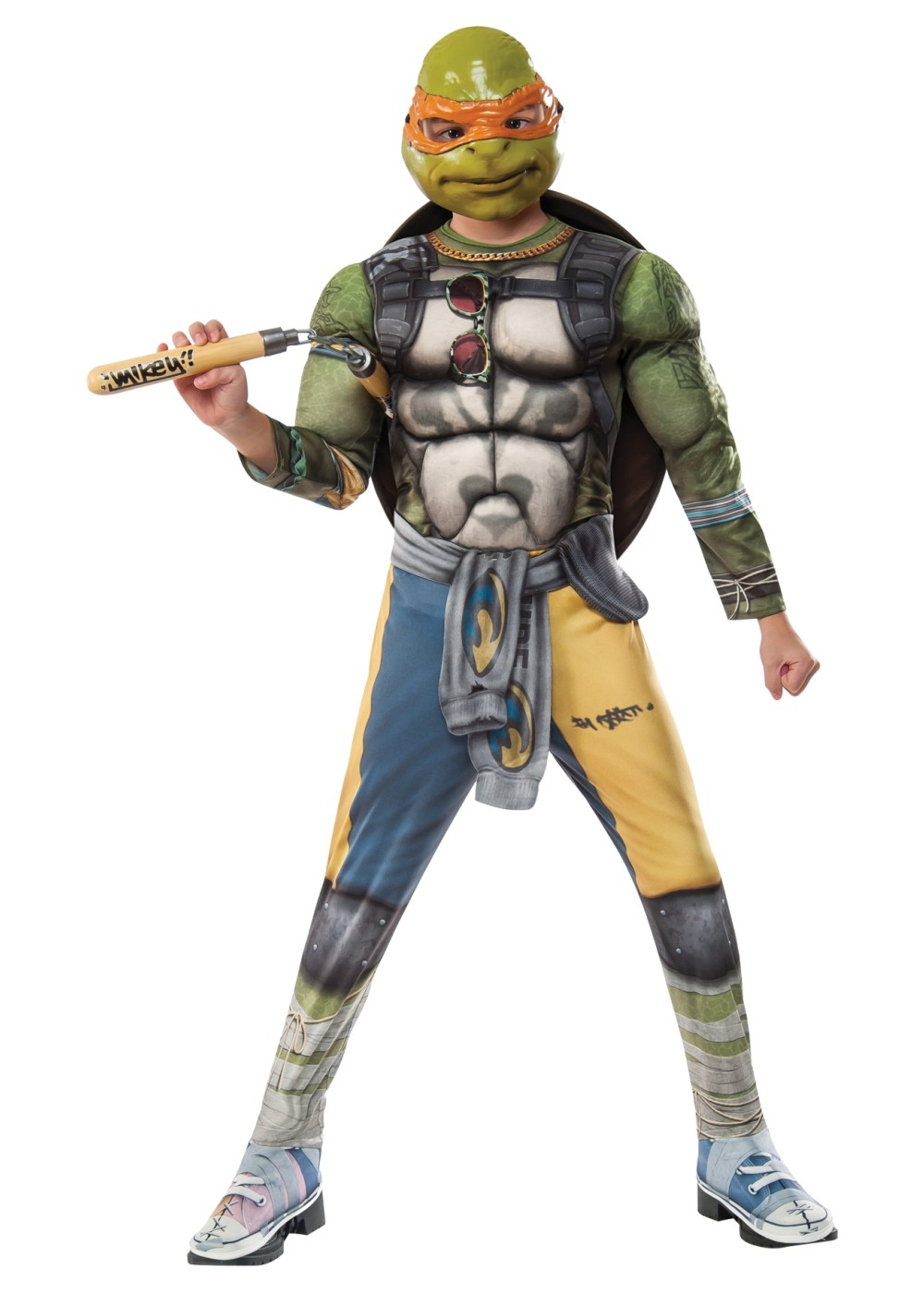 Ninja Turtles: Out Of The Shadows Michelangelo Boys Costume