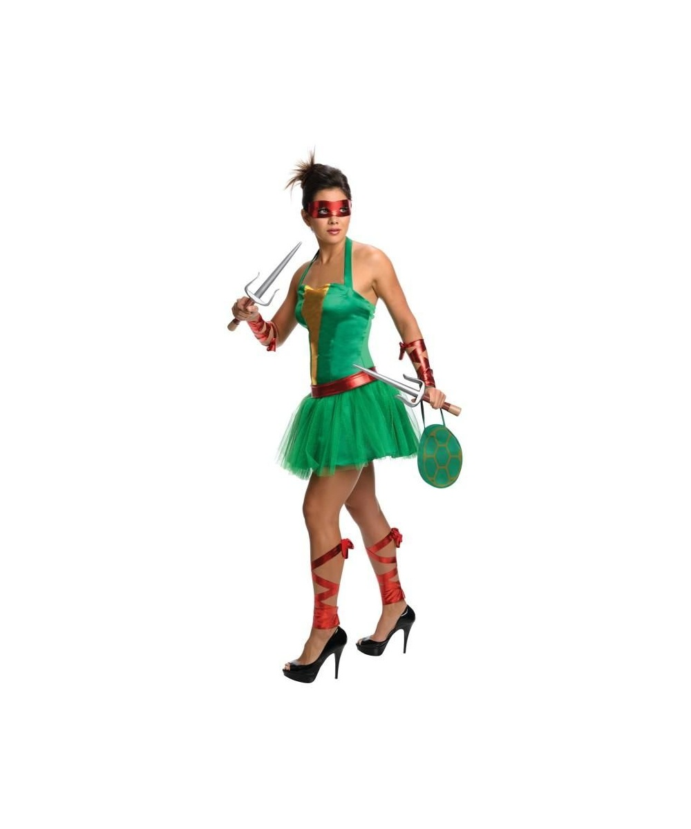 Ninja Turtles Raphael Adult Womens Costume Dress - Women ...
