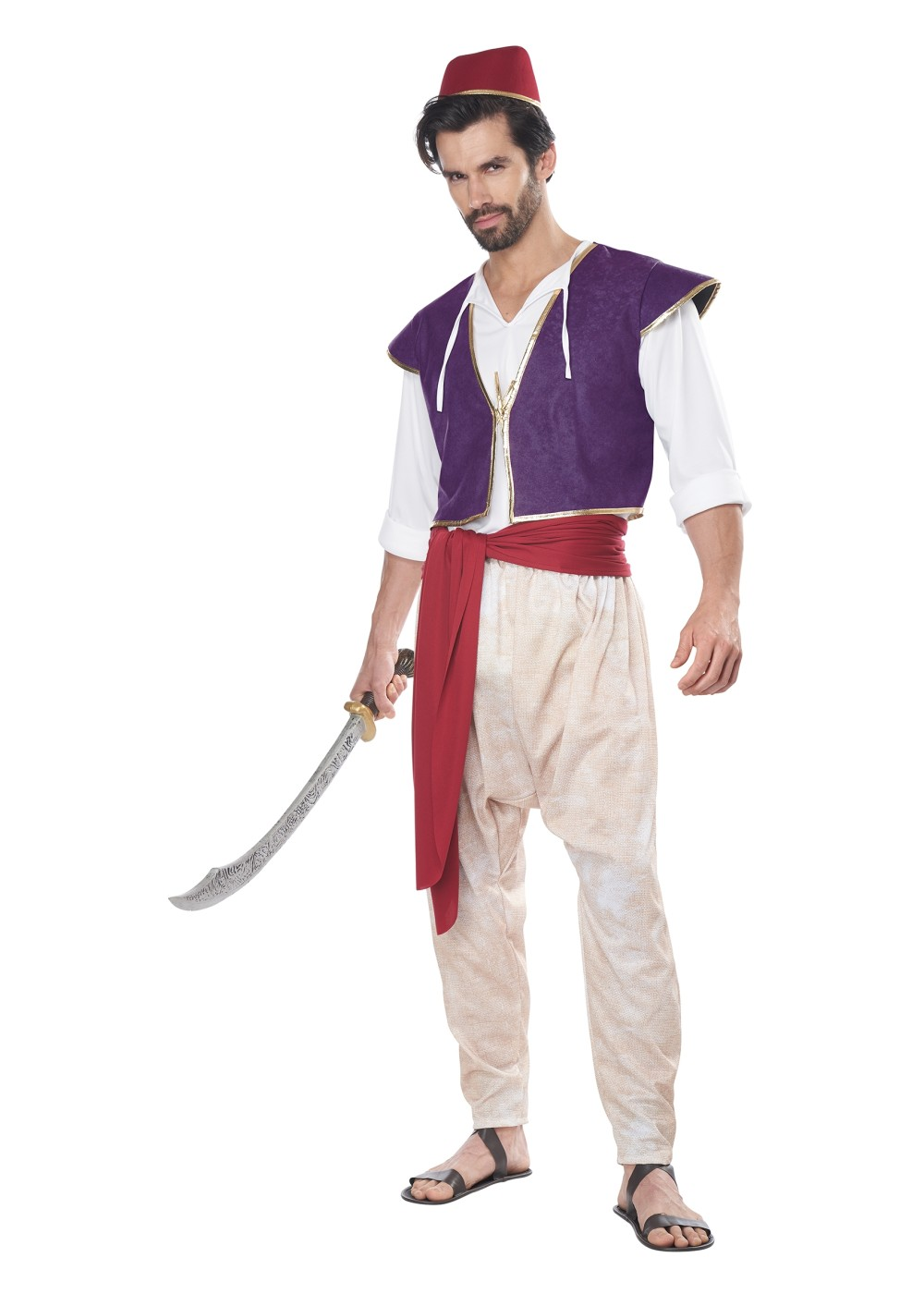 Arabian Folk Hero Men Costume