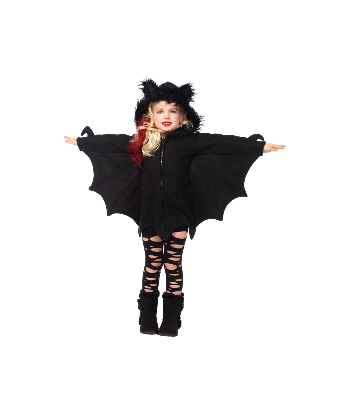 Scary Bat Cozy Big Girls Costume