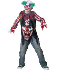 Big Top Terror Kids Costume