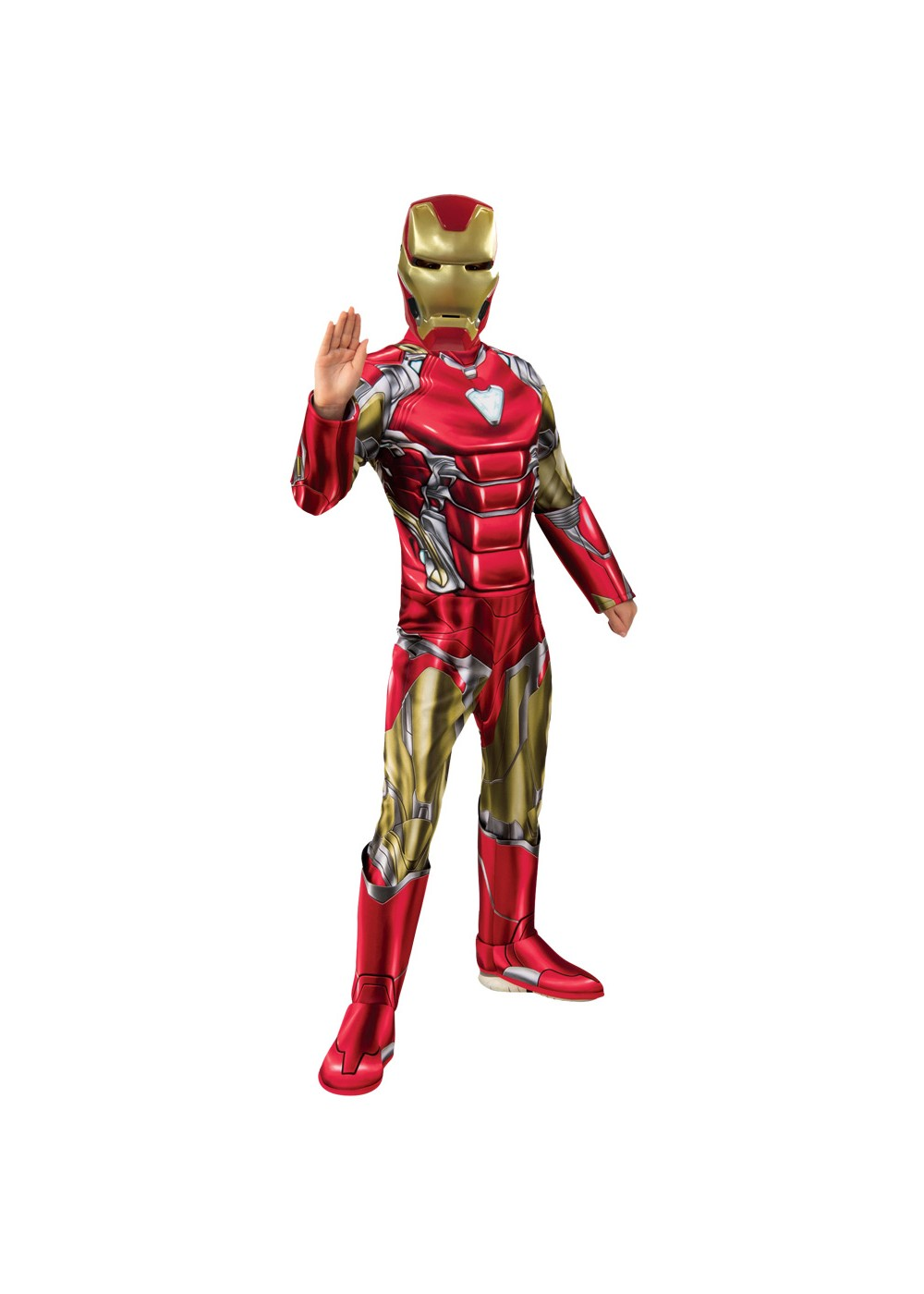 Boys Endgame Iron Man Costume