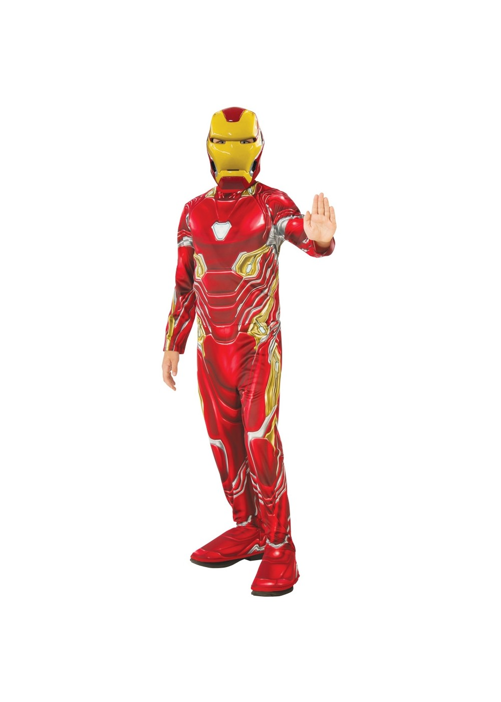Boys Endgame Iron Man Mark 50 Suit Costume Economy