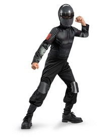 Gi Joe Retaliation Snake Eyes Kids Costume