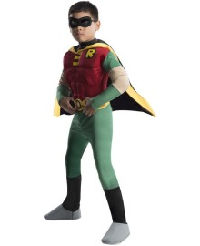 Kids Robin Costume Muscle Chest