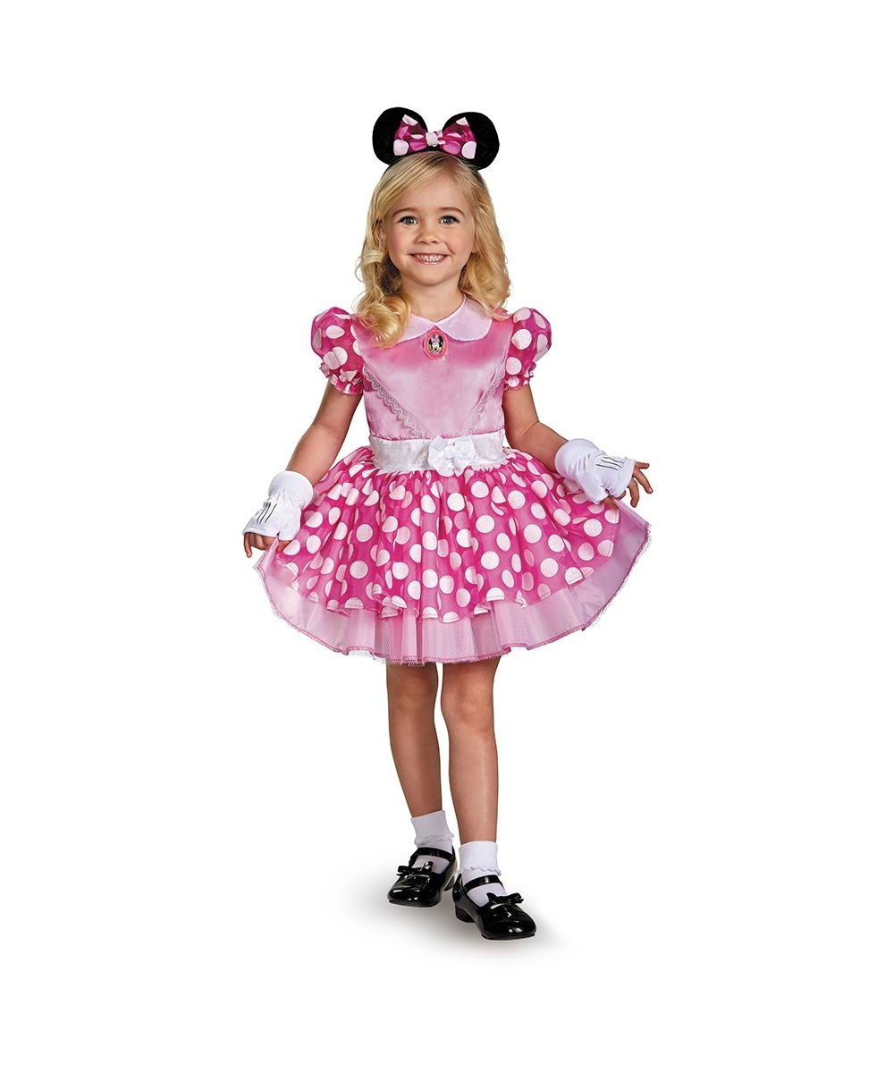 Disney Minnie Mouse Toddler Girl Costume
