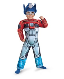 Optimus Prime Rescue Bot Muscle Kids Costume