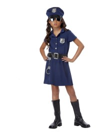 Police Officer Kids Costume
