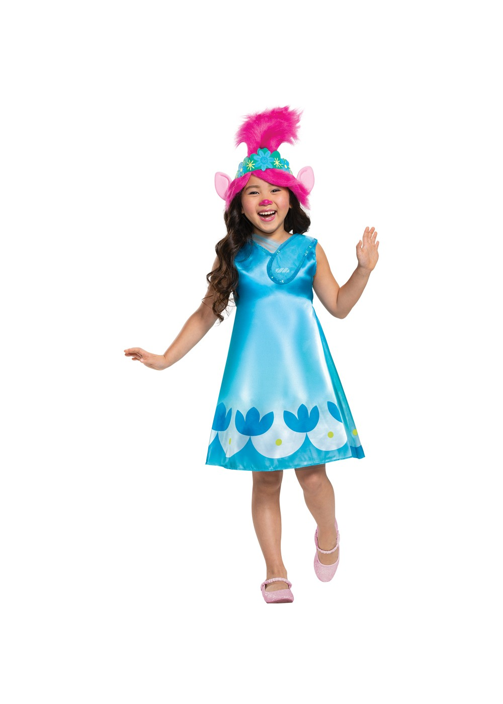 Poppy Trolls Movie Toddler Costume