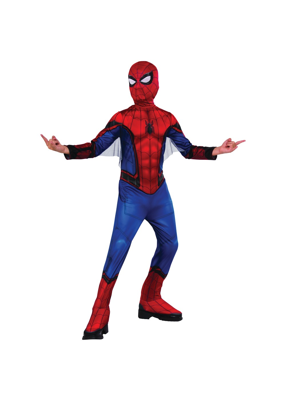 Red And Blue Spiderman Child Costume