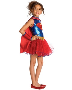 Supergirl Tutu Kids Costume