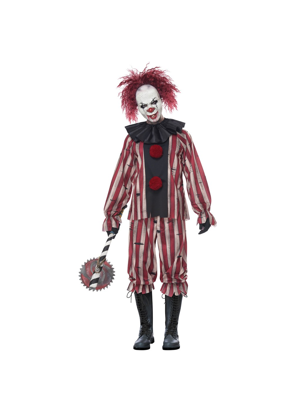 Unisex Nightmare Clown Costume