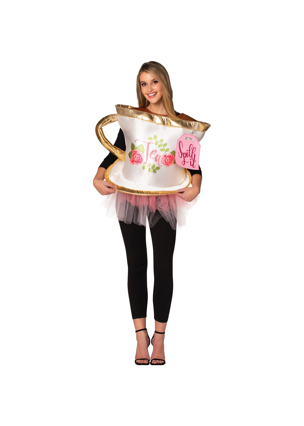 Tea Spill Womens Costume