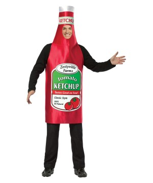 Zestyville Farms Ketchup  Costume