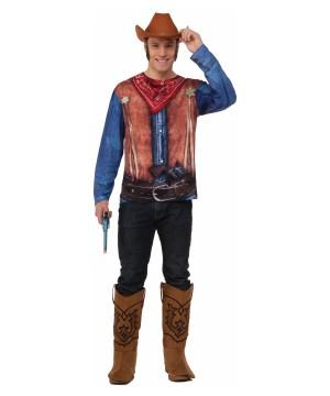 Cowboy 3d Men Shirt