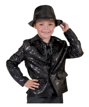Black Disco Kids Costume