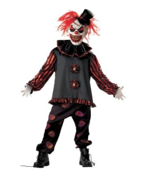 Carver the Clown Kids Costume