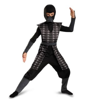 Evil Ninja Black Kids Costume
