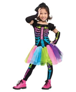 Funky Punky Bones Kids Costume  sc 1 st  Buy Party Costumes & Halloween Costumes