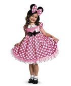 Minnie Mouse Glow in the Dark Girl Costume