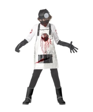 Open Heart Surgeon Kids Costume