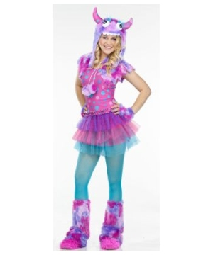 Polka Dot Monster Teen Costume
