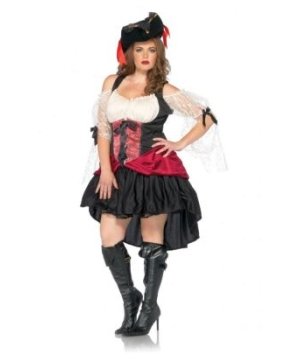 Wicked Wench Peasant Dress  plus size Costume