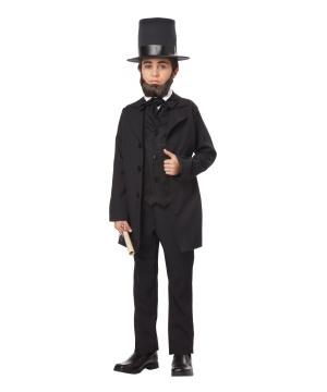 Abraham Lincoln Boys Historical Costume