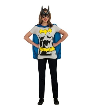 Adult Batgirl Tshirt Costume