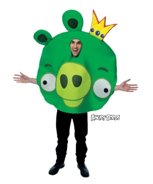 Adult Rovio Angry Birds King Pig Costume