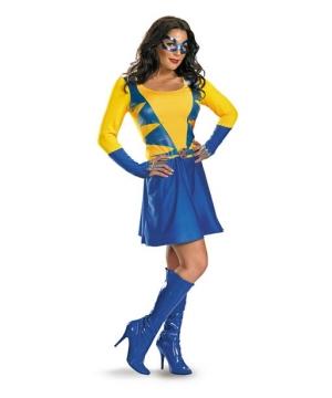 Adult Wolverine Female Costume