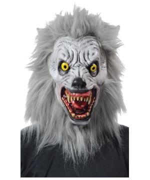 Sacry Albino Werewolf Halloween Costume Mask